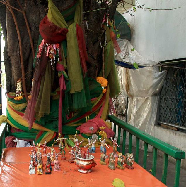 Street shrine in Bangkok