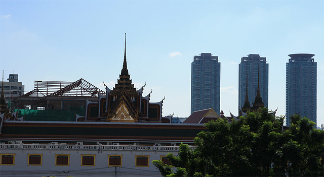 Roofs in Bangkok