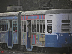 Tram on the Maidan