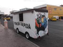 Comida Rapida / Burgers wagon.