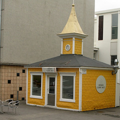 Petite maison pittoresque, Akureyri = la ville du Nord (Islande)