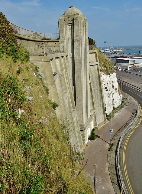 ramsgate west cliff lift, kent