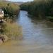 Swollen River Severn, Ironbridge Shropshire
