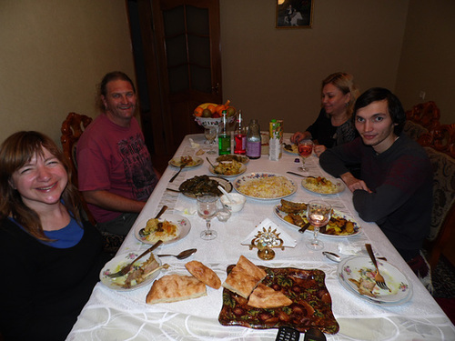 Baku Couchsurfing Feast