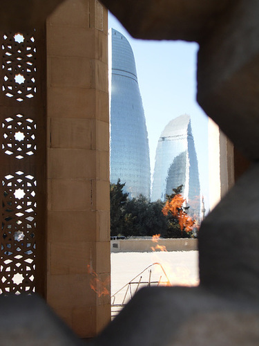 The Eternal Flame and the Flame Towers