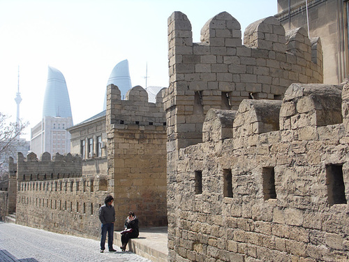 Baku Town Walls