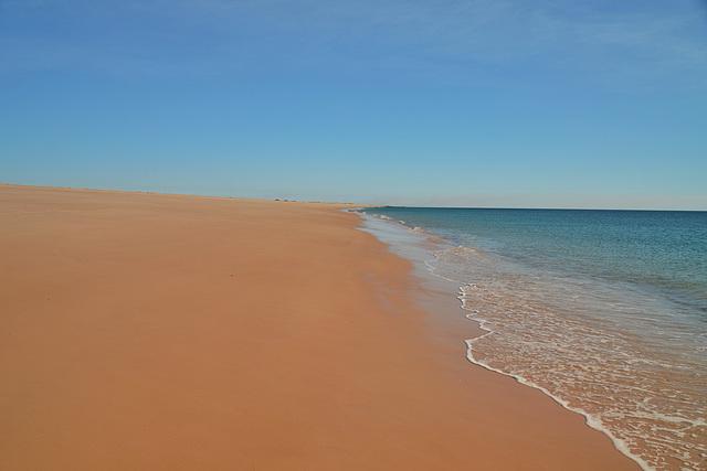 Indian Ocean...the empty shore