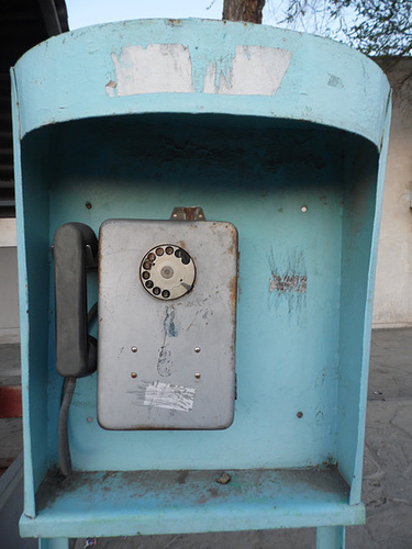There Was No Dial Tone