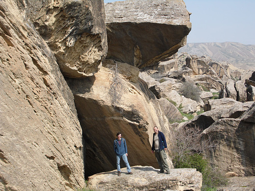 Scaling the Rocky Hills at Qobustan