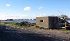 WW2 Pillbox, Ferry Road, Hayling Island