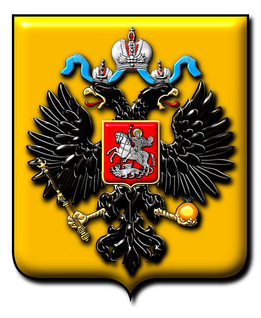 Coat of Arms of Russian Empire - Peter Crawford