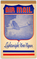 Air Mail Lightweight Note Paper