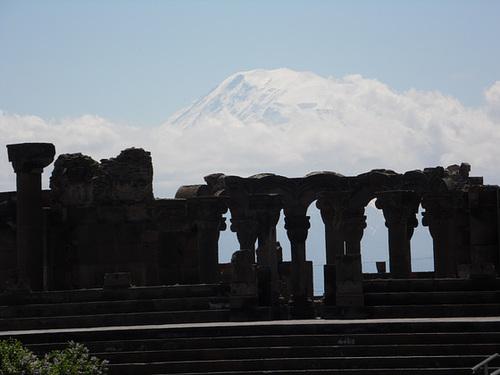 Ruins With Mount Ararat