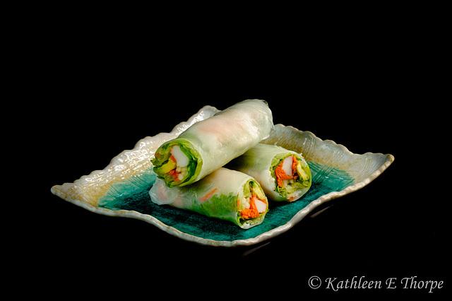 Sushi Summer Roll Trio