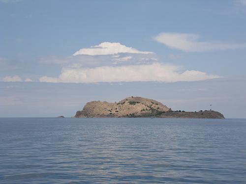 Akdamar Island on Lake Van
