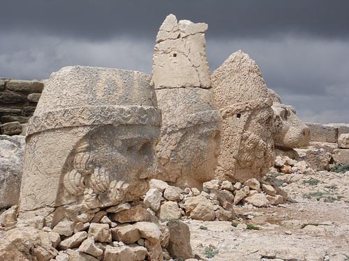 Eastern Terrace Heads of Nemrut Dağı