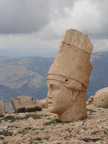 One of the Western Terrace Heads, Nemrut Dağı