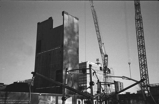 New Development, Elephant and Castle, London SE.