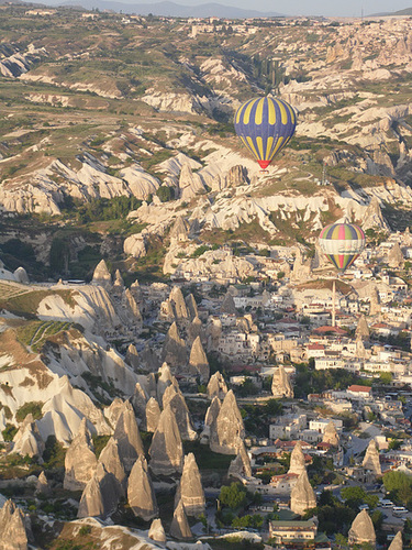Balloon View Over Göreme