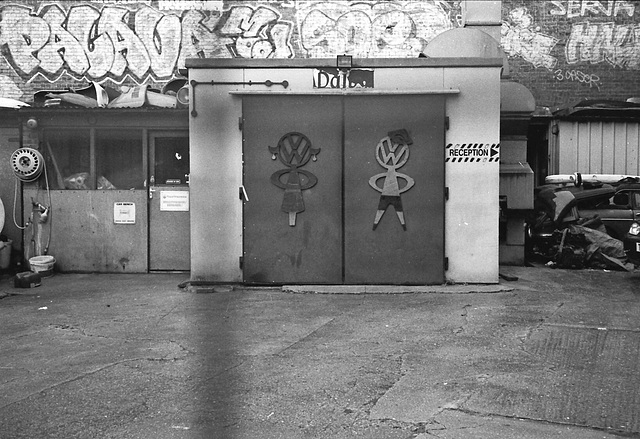 Garage, Brixton, London SW.