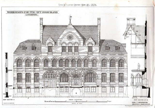 Workshops for the Blind, Cornwallis Street, Liverpool