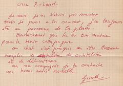 dernière lettre de mon oncle - en 2005