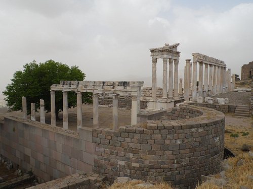 The Temple of Trajan, Pergamum