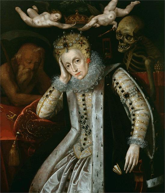 Queen Elizabeth I at old age