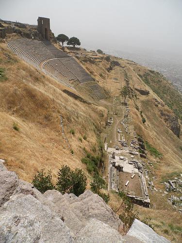 A Very Impressive Hellenistic Theatre, Pergamum