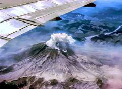Mt. St. Helens, June 1980 (135°)