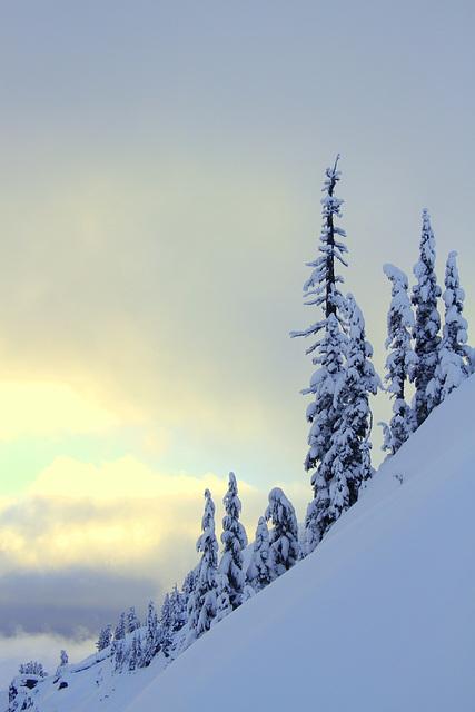 North Cascades Winter Morning