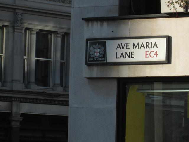 Ave Maria Lane.