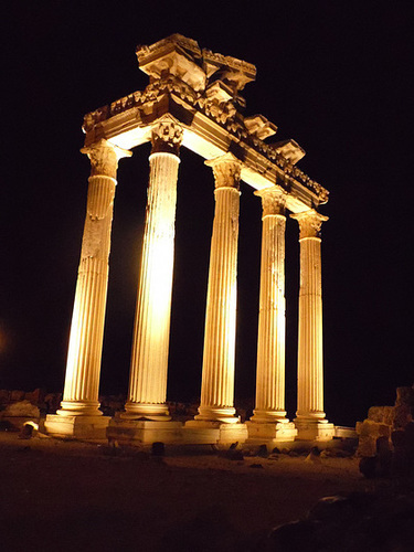 Temple of Athena, Side