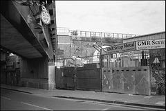 Scrapyard, Hinton Road, Loughborough Junction.