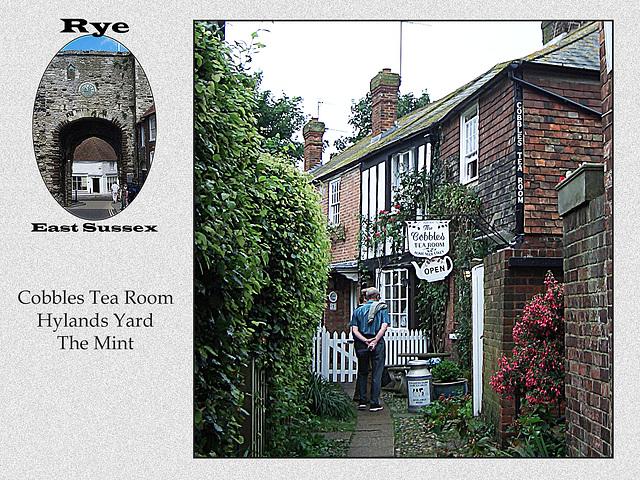 Rye - Cobblers Tea Room - Hylands Yard