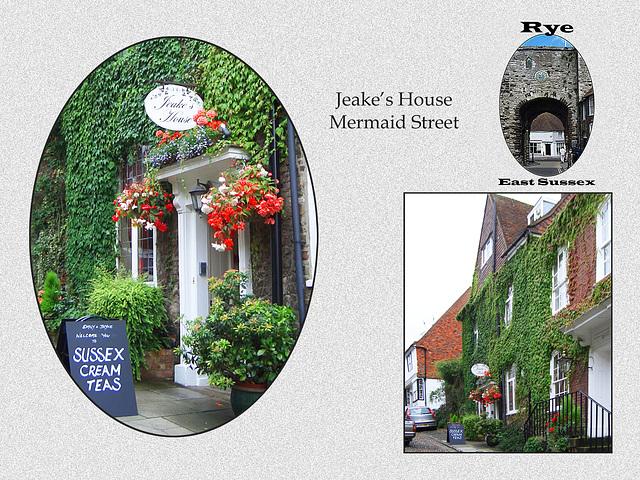 Rye - Jeake's House - Mermaid Street