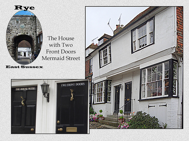 Rye - The House with Two Front Doors - Mermaid Street
