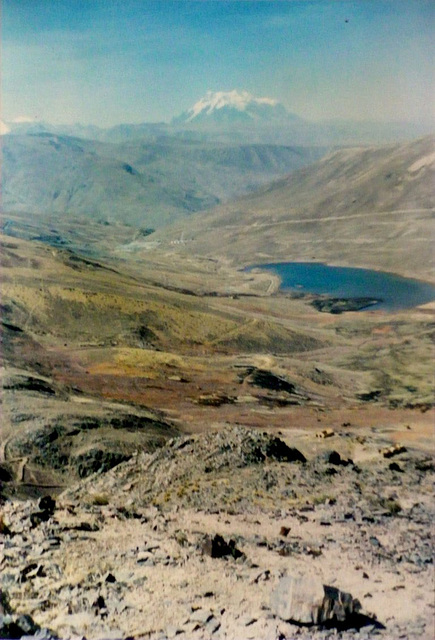 41 The Andes Scenery
