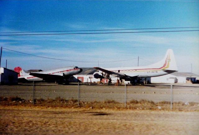 44 Old Planes at La Paz Airport