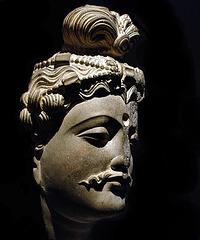 Tête de Bodhisattva - Pakistan ( 1er-IIIème siècle)