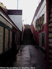 Grangetown Station, Picture 2, Grangetown, Glamorgan, Wales (UK), 2014