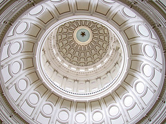 Dome - Interior of the Texas State Capitol
