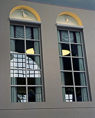 Windows Crowned with Origami