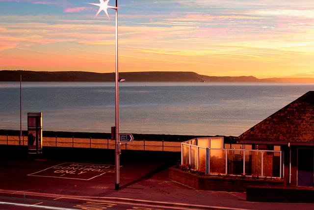 October dawn, Weymouth