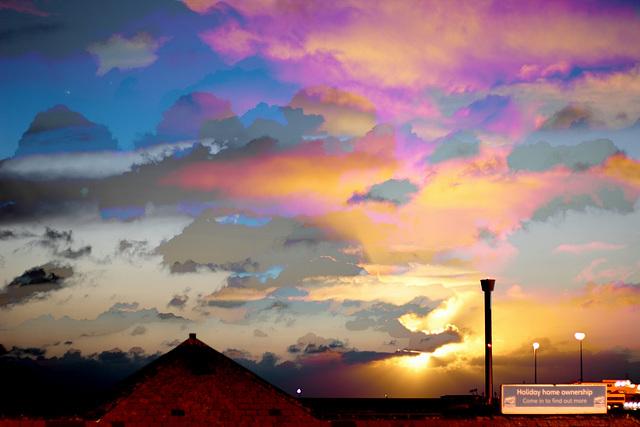 Weymouth daybreak, 0615 to 0725