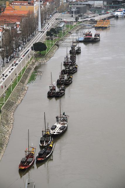 Porto - Les rabelos