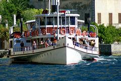 Zanardelli, das alte Traditions-Schiff bei Limone. ©UdoSm