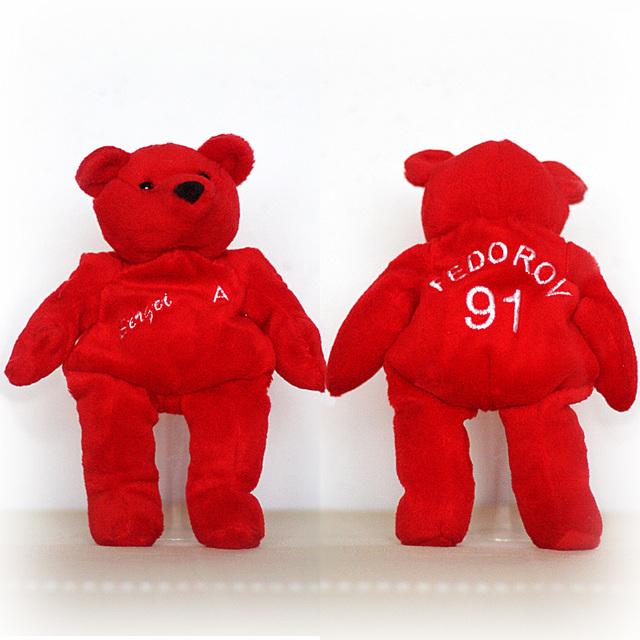 Sergej Fedorov 91 Bear