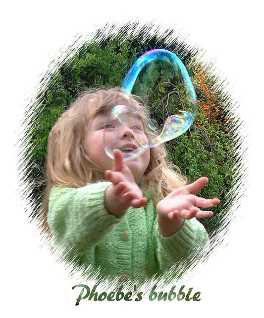 Phoebe's bubble - 2001 025Da
