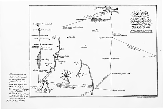 The Mohegan Country, Chandler 1705